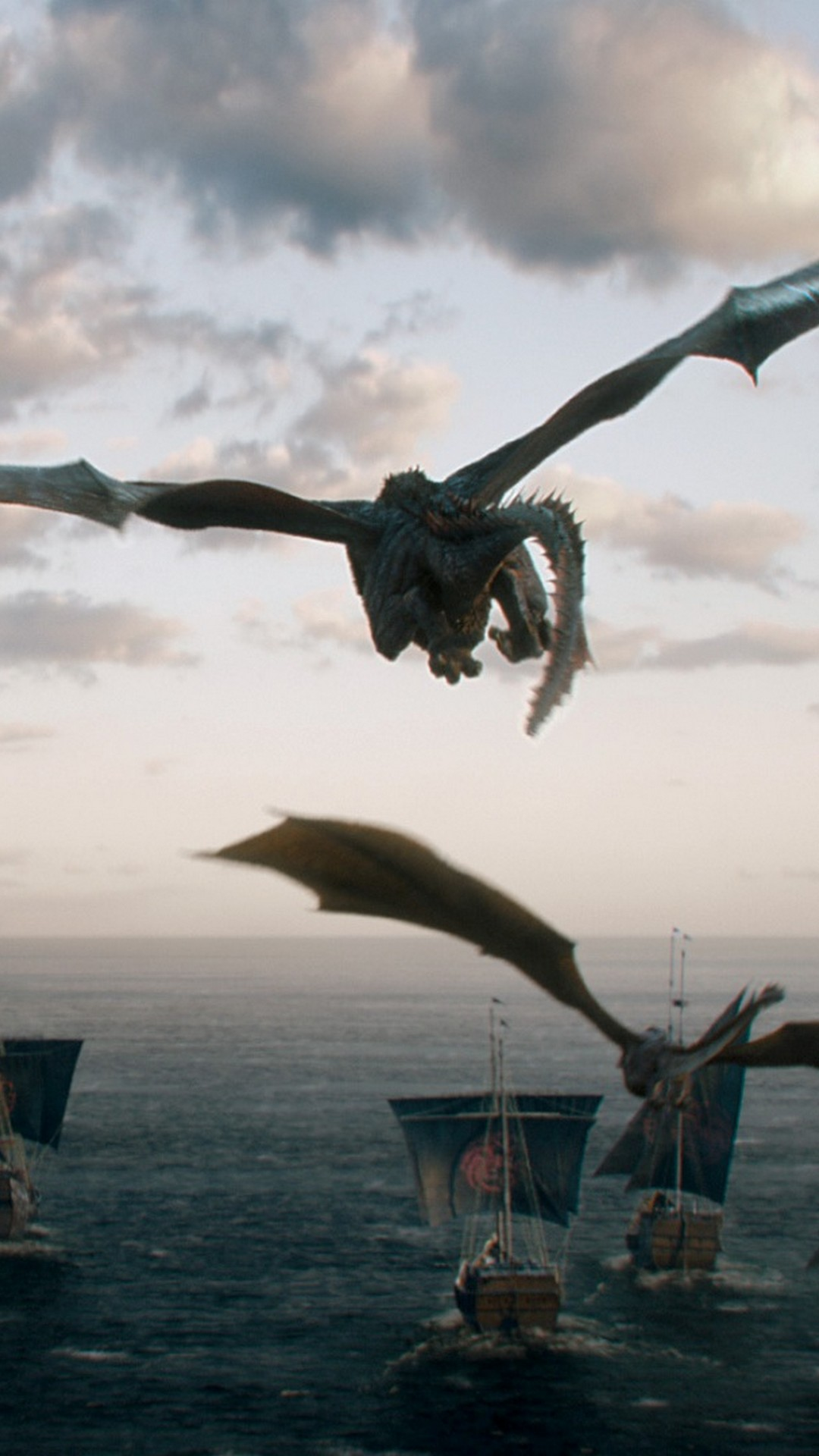 Game Of Thrones Dragons Wallpaper For Iphone With High-resolution - Game Of Thrones Dragon Wallpaper Iphone - HD Wallpaper