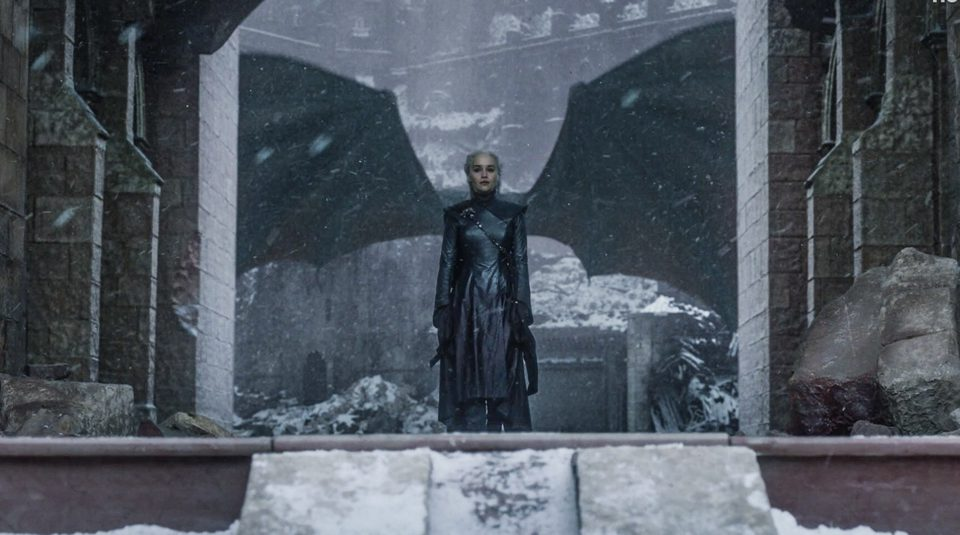5 Moments That Prove The 'game Of Thrones' Finale Was - Game Of Thrones Daenerys Dragon Wings - HD Wallpaper