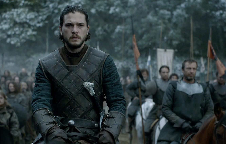 Photo Wallpaper Game Of Thrones, Jon Snow, Kit Harington, - Jon Snow Vs The Night King - HD Wallpaper