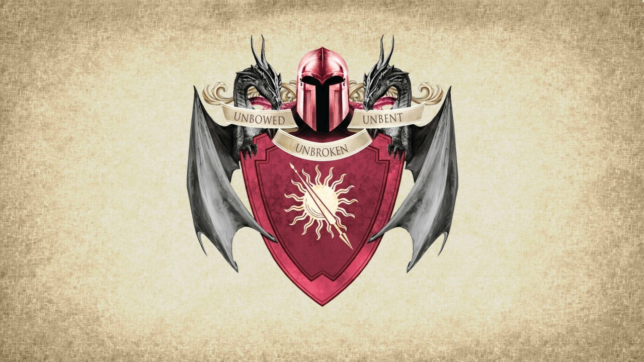 Game Of Thrones Wallpapers - Game Coat Of Arms - HD Wallpaper
