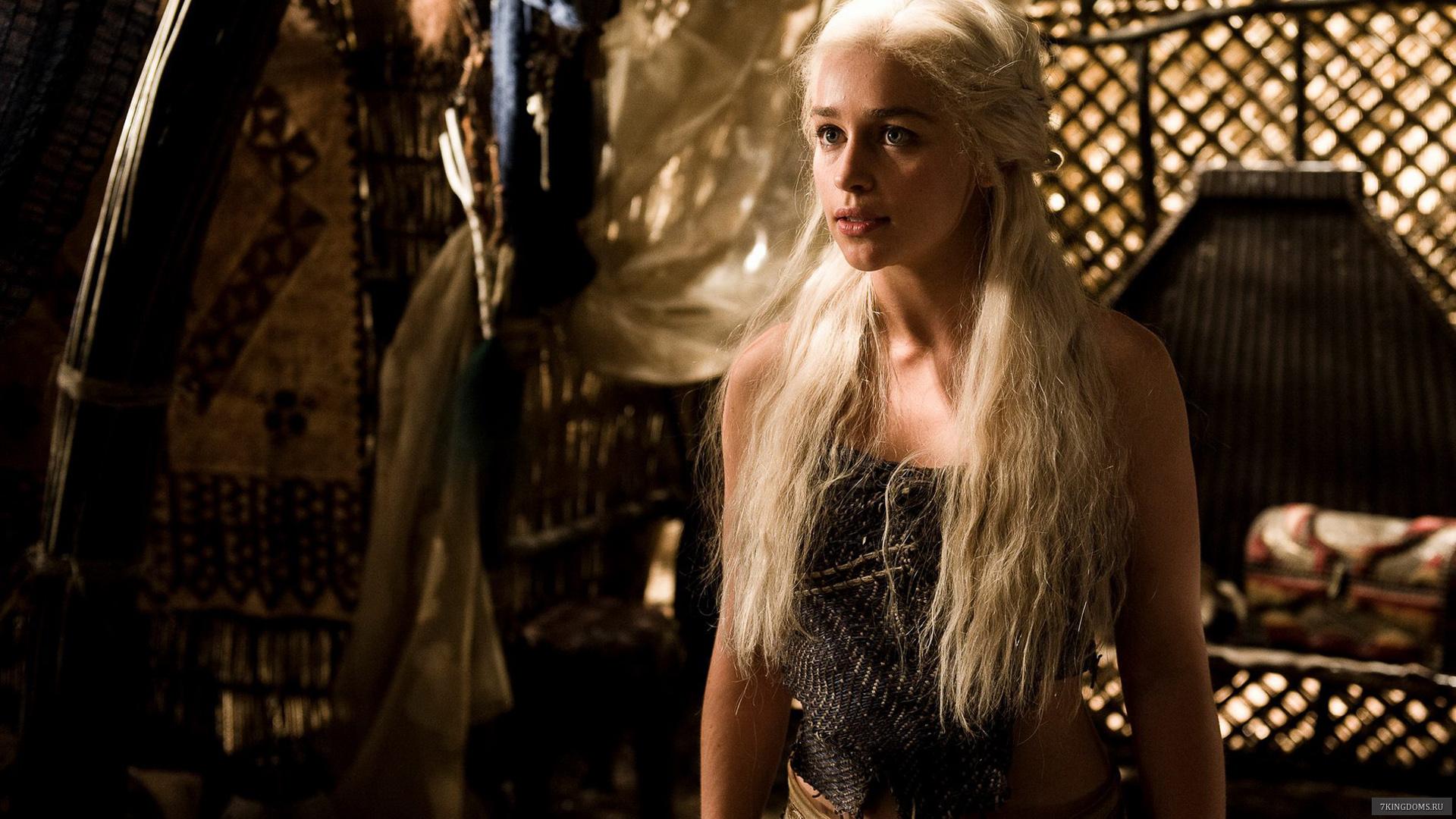 Daenerys Emilia Clarke Game Of Thrones - HD Wallpaper