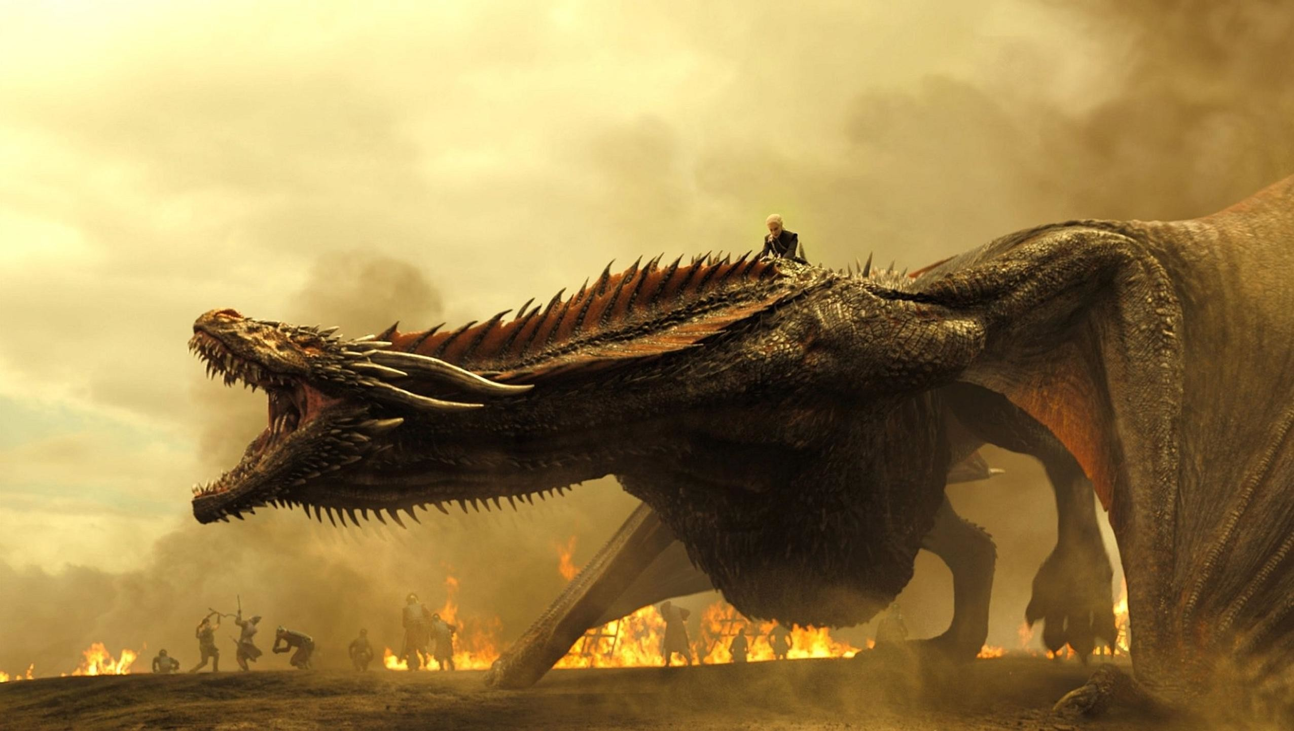 2552x1442, Wallpaper For Game Of Thrones - Desktop Game Of Thrones Dragon - HD Wallpaper