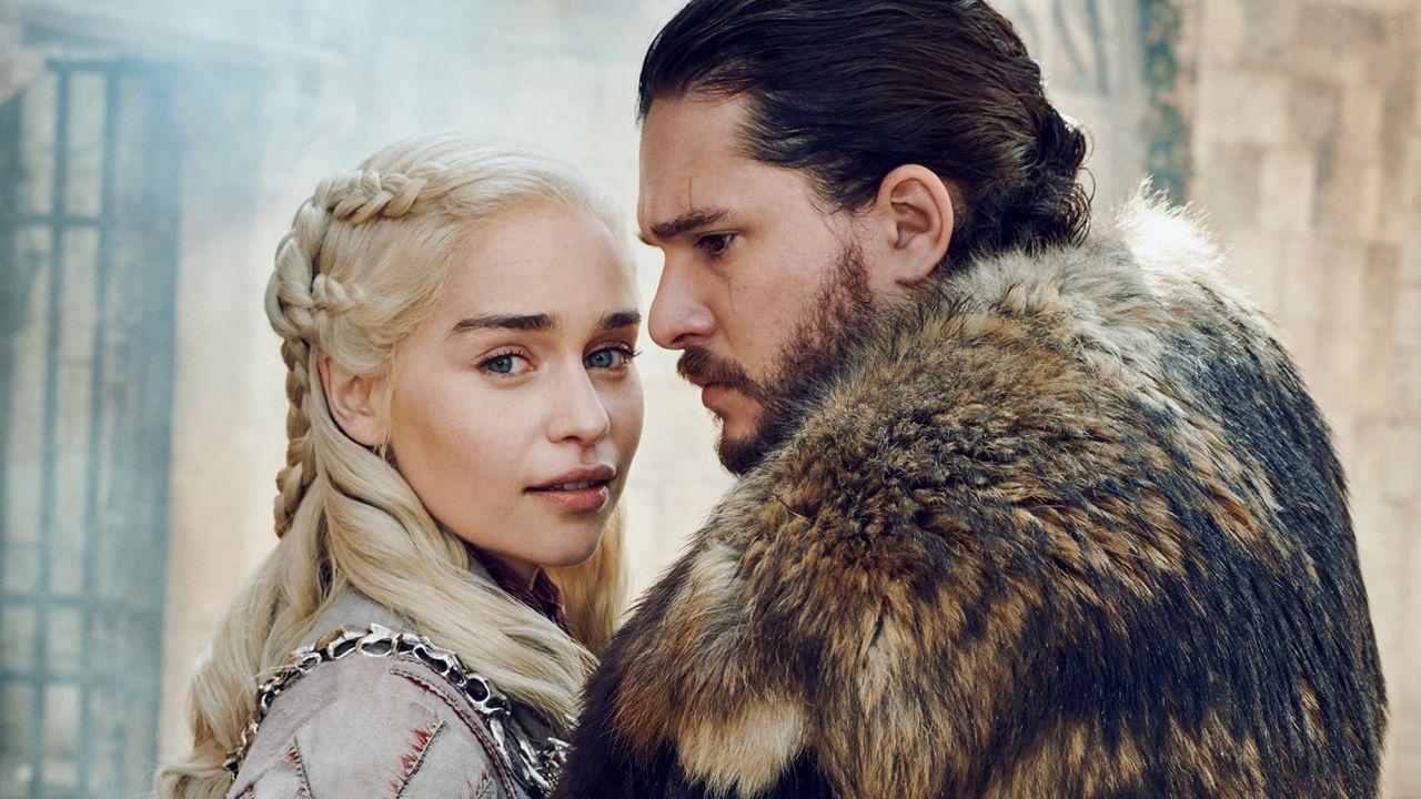 Game Of Thrones Daenerys Jon - HD Wallpaper