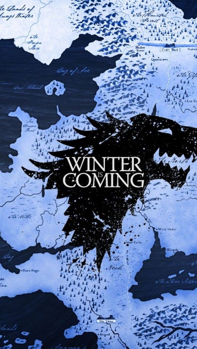 Winter Is Coming Game Of Thrones Iphone - HD Wallpaper