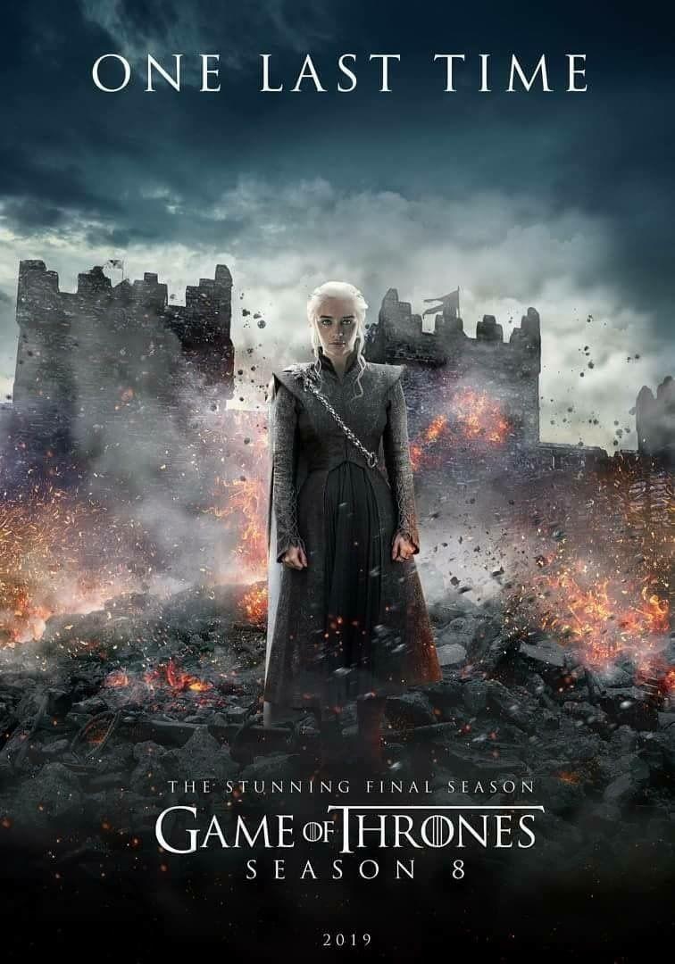 Game Of Thrones Season 8 Final - HD Wallpaper