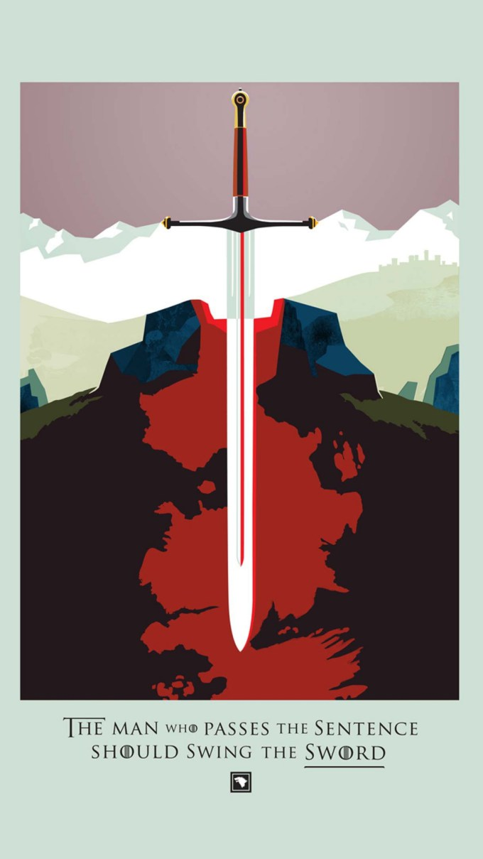 Game Of Thrones Handy Wallpaper - Game Of Thrones Posters Art - HD Wallpaper