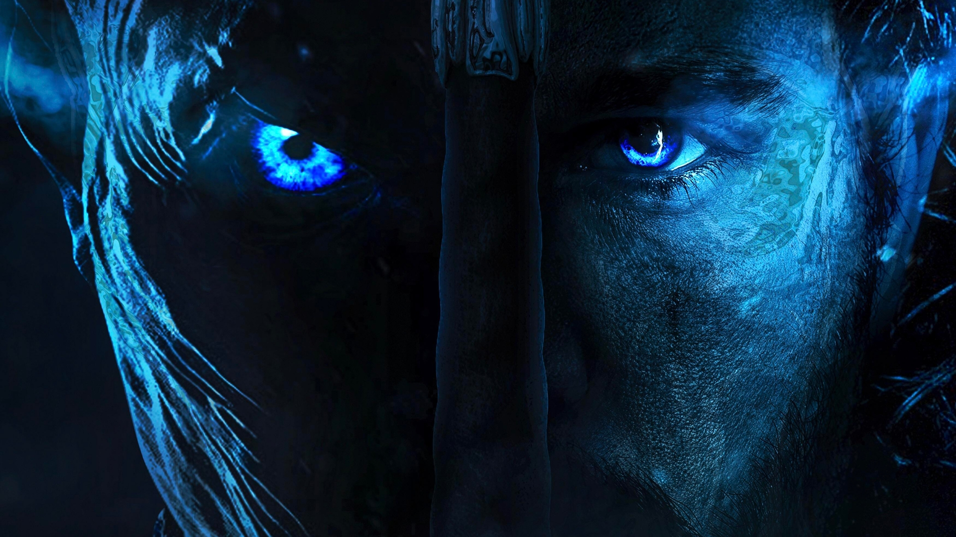 Jon Snow Night King Wallpaper Hd - HD Wallpaper