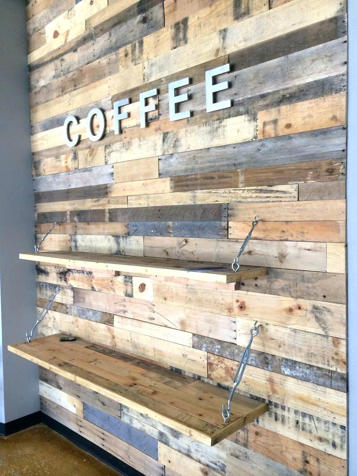 Pallet Wood Wall Wooden Plank Wall Wood Pallet Wall - Wood ...