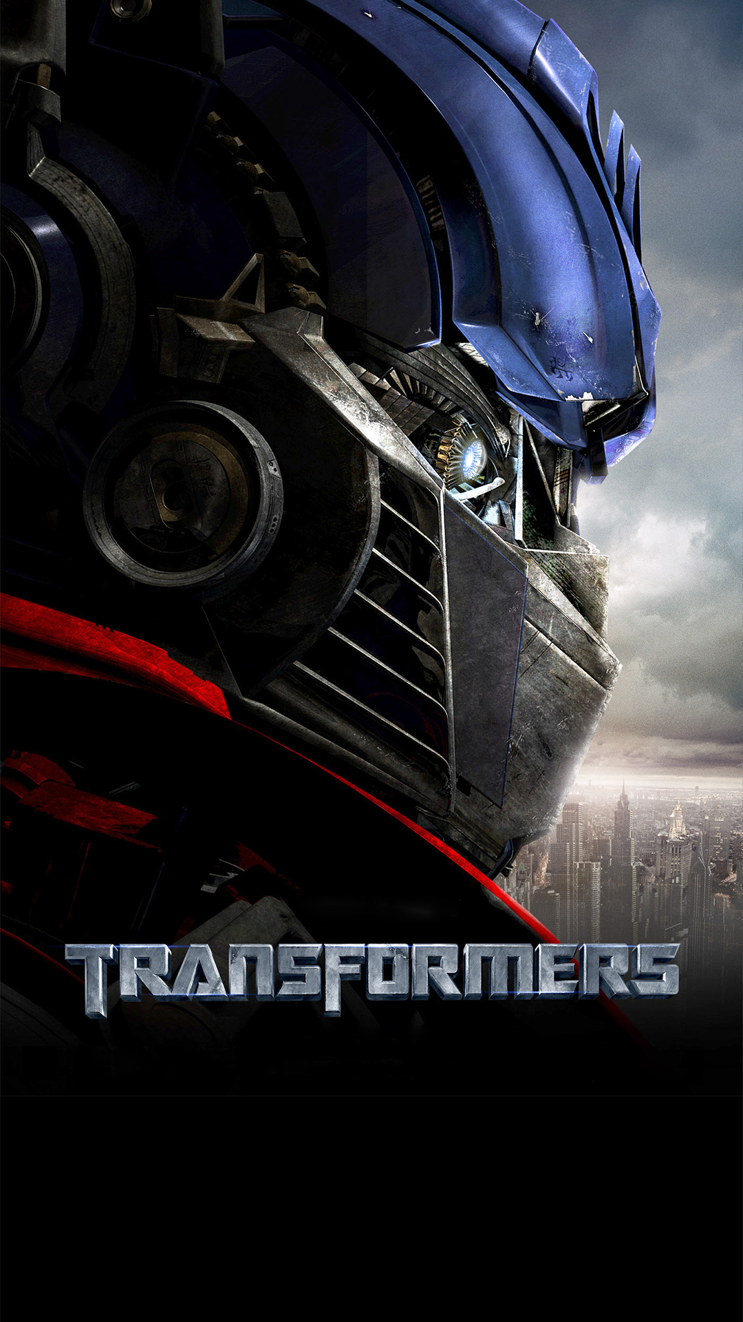 Optimus Prime Transformers - Official Transformers Movie Poster - HD Wallpaper