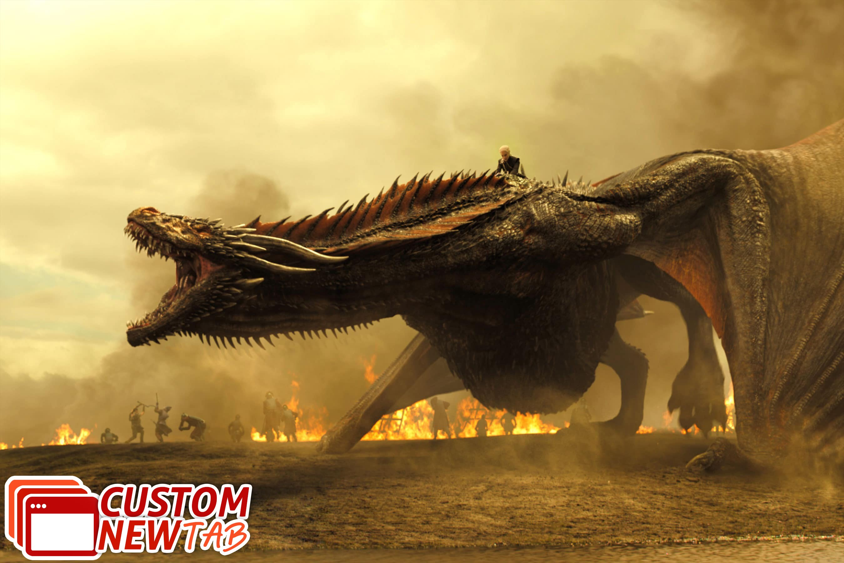 Game Of Thrones Dragon Hd - HD Wallpaper