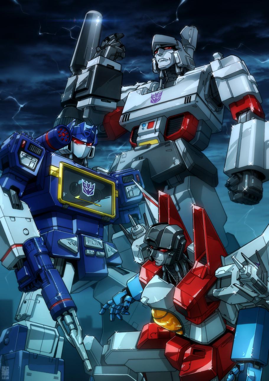 Transformers Mobile Wallpaper Megatron Starscream And Soundwave 911x1290 Wallpaper Teahub Io