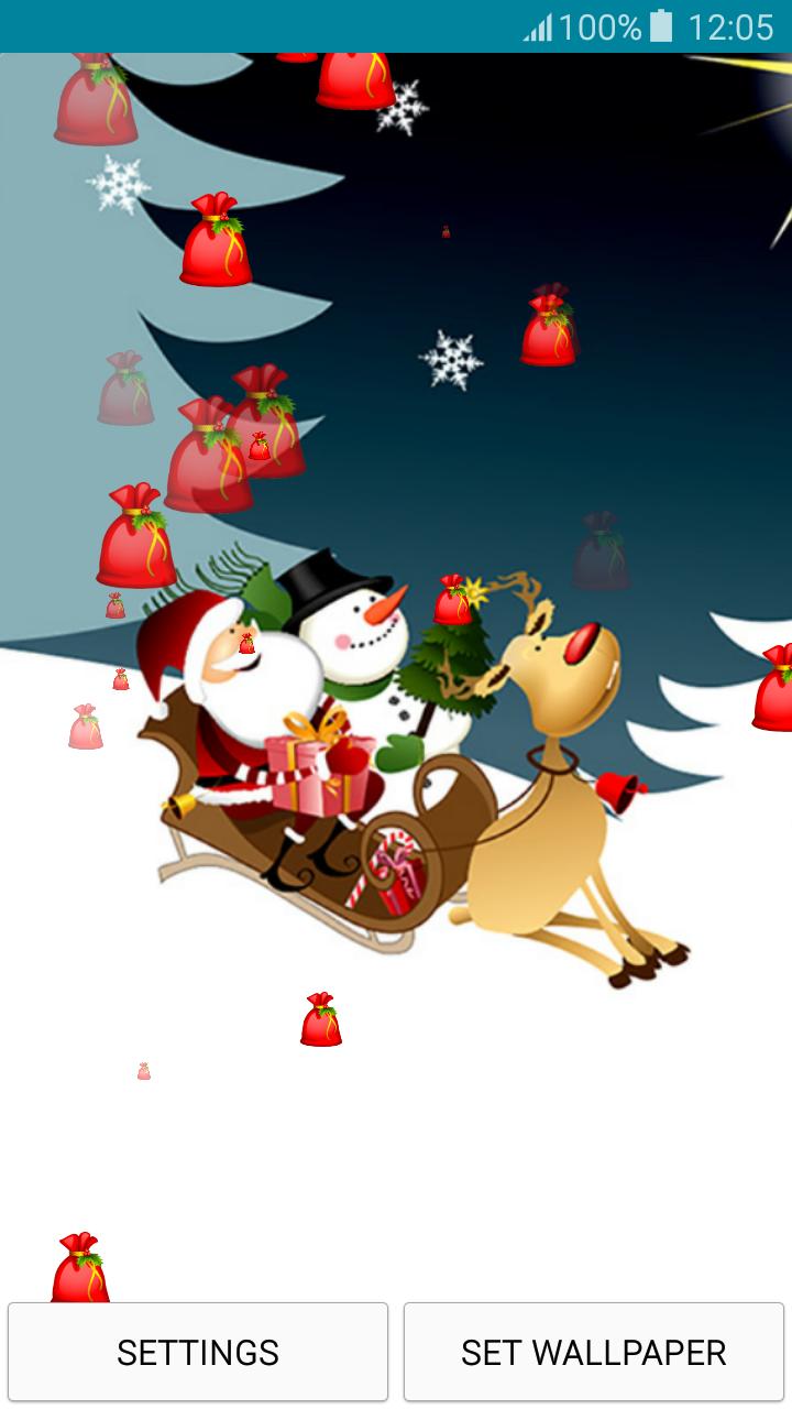 Live Wallpapers - Santa Claus - Kostenlose Weihnachtsbilder Zum