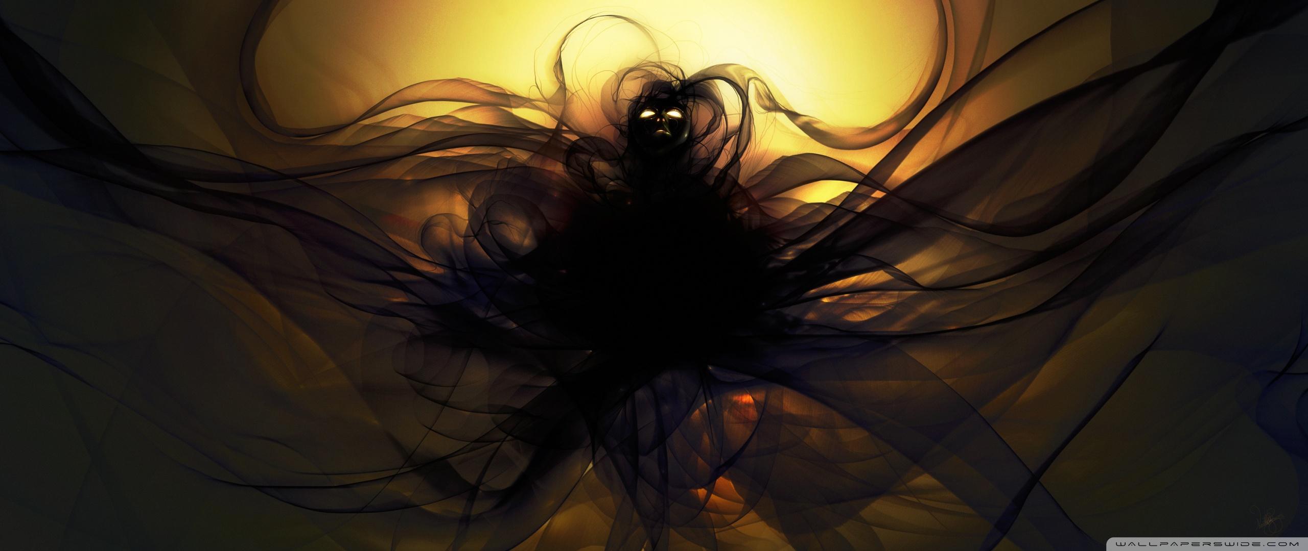 Darkness Power Fantasy Art - HD Wallpaper