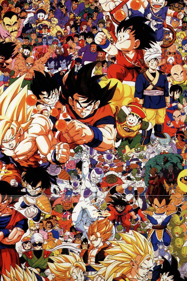 Dragonball Full Art Illust Game Anime Iphone Wallpaper - Iphone Sfondi Dragon Ball - HD Wallpaper