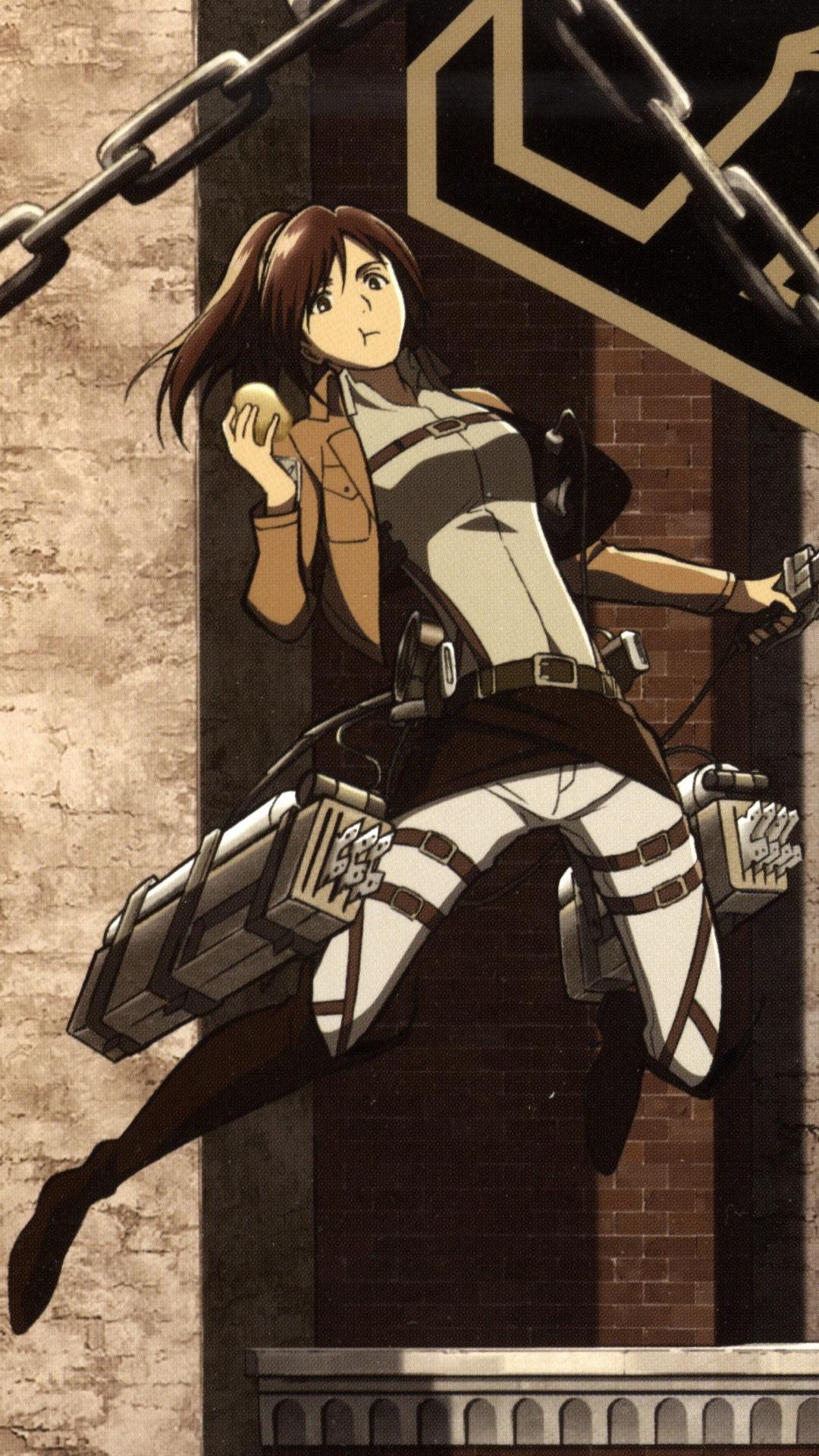 Shingeki No Kyojin Attack On Titan Sasha Iphone 1080x1920 Wallpaper Teahub Io