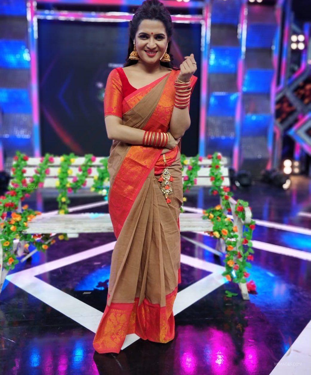 Vijay Tv Dd Saree - HD Wallpaper