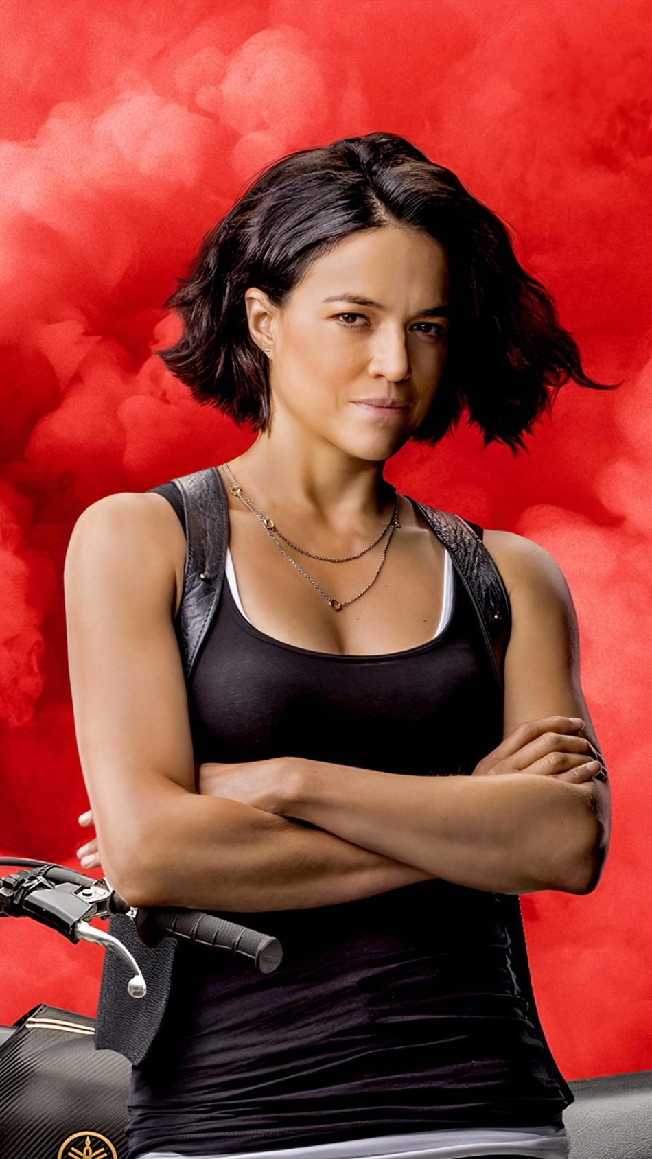 Michelle Rodriguez In F9 The Fast Saga 4k Ultra Hd Fast Furious 9 950x1689 Wallpaper Teahub Io