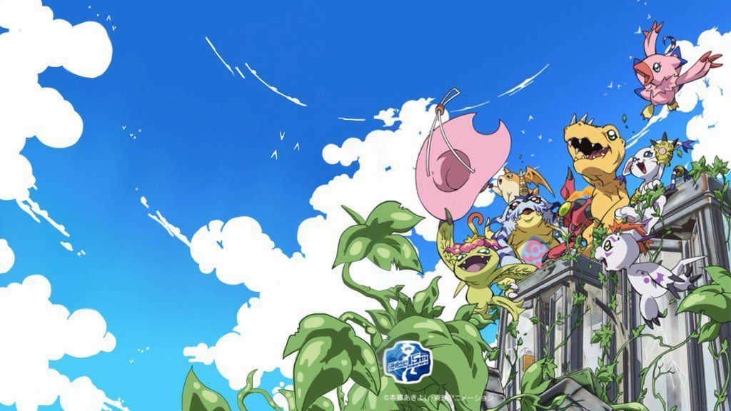 Backgrounds Galleries Digimon For Pc Mac Tablet Digimon Adventure Tri Hd 1024x576 Wallpaper Teahub Io