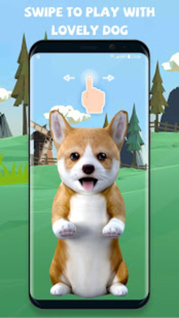 3d Cute Puppies Dog Animated Live Wallpaper Android Application Package 680x1211 Wallpaper Teahub Io