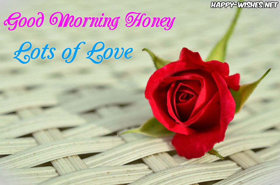 Good Morning Honey Romantic Images - Love And Tears Quotes - HD Wallpaper