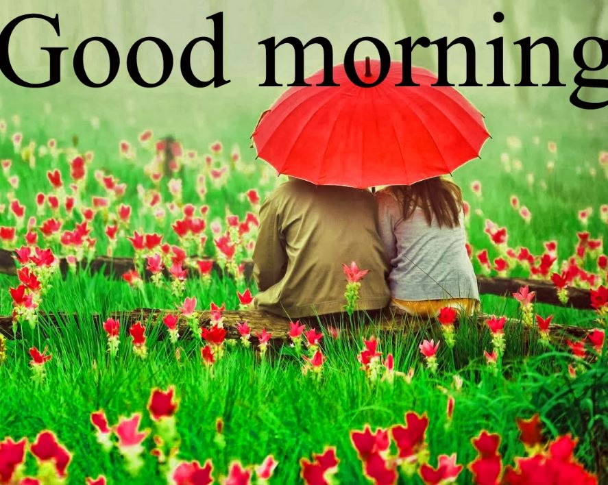 Romantic Good Mornimg Images Cutr Lover And Beautiful - Romantic Beautiful Good Morning - HD Wallpaper