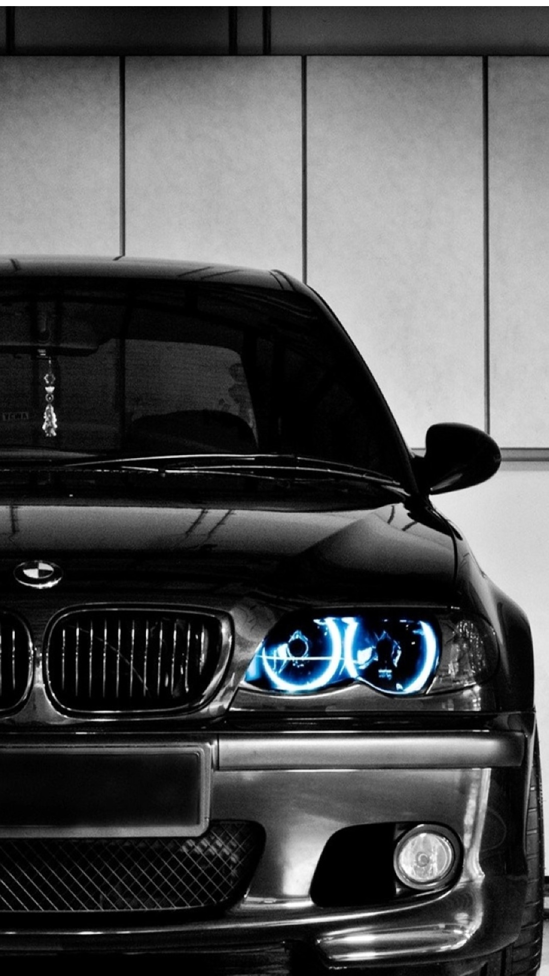 Black Bmw Front Blue Led Iphone 6 Plus Hd Wallpaper Bmw Wallpaper Phone Hd 1080x1920 Wallpaper Teahub Io