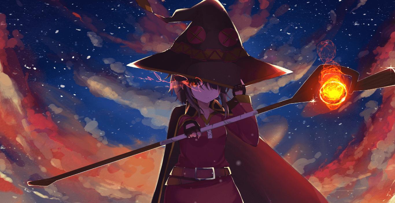 Megumin [wallpaper Engine Anime] - Best Anime Wallpaper For Pc - HD Wallpaper