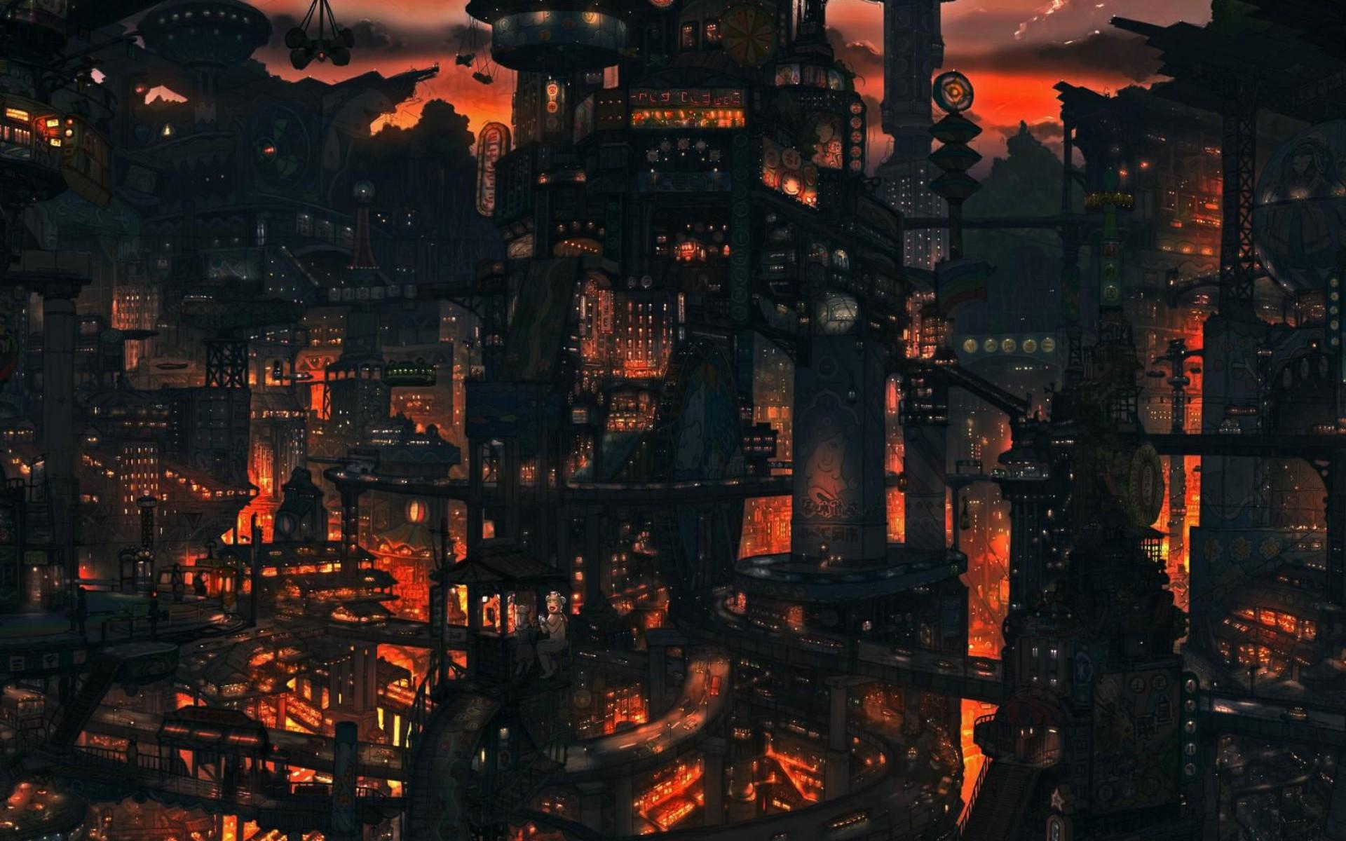 Rain Anime Wallpapers Scenery 1920x1200 Wallpaper Teahub Io