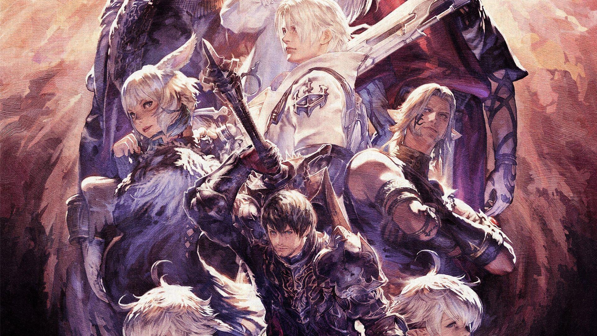 Final Fantasy Xiv Shadowbringers Art 1920x1080 Wallpaper Teahub Io
