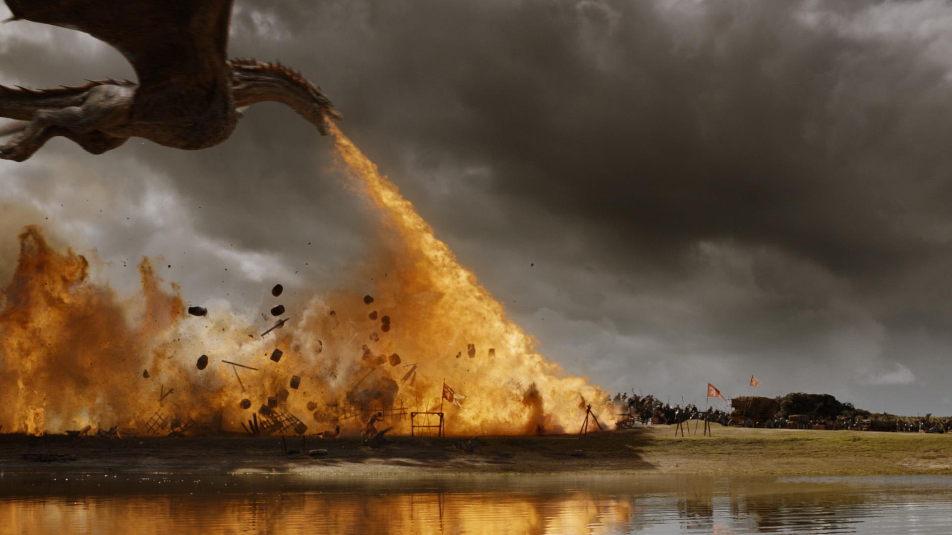 Game Of Thrones Season 7 Dragon Wallpaper Hd - Drogon Game Of Thrones Wallpaper Hd - HD Wallpaper