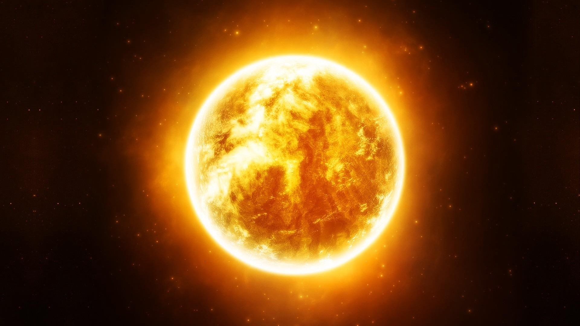 Wallpaper Sun, Stars, Space, Light - High Quality Picture Of The Sun - HD Wallpaper