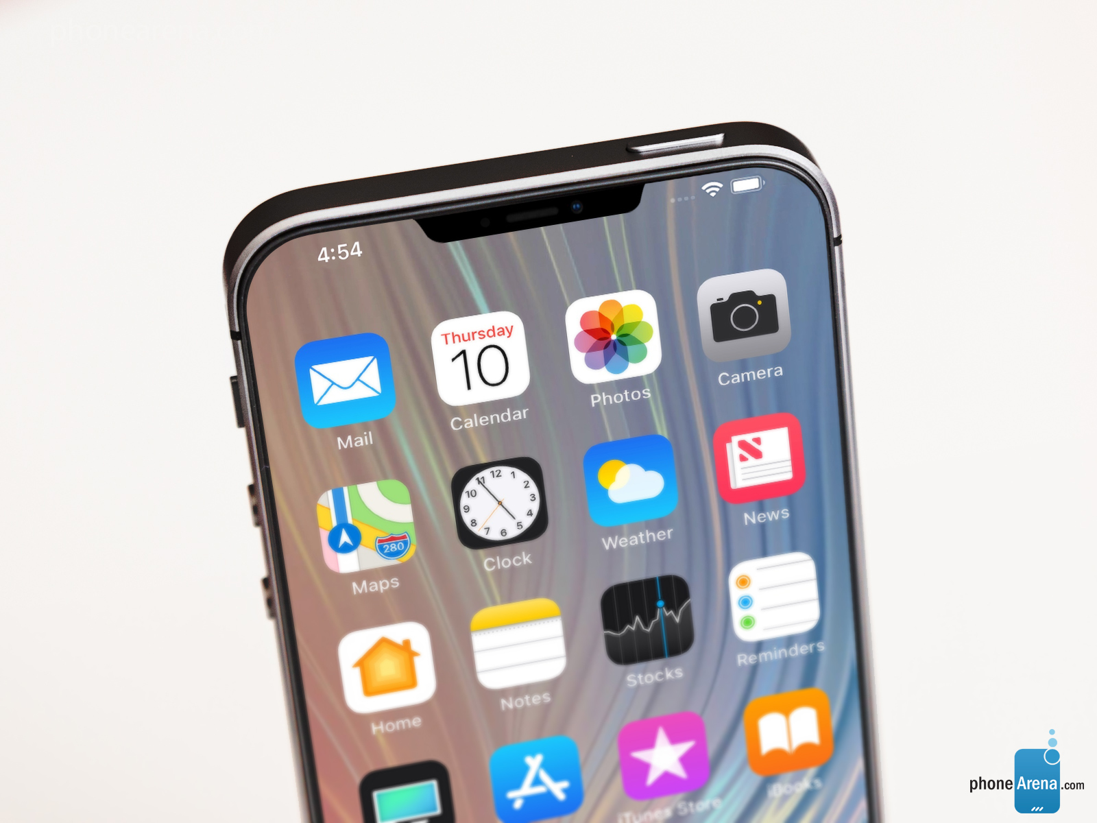 This More Angular Notch Actually Goes Along Quite Well - New Iphone Se 2 - HD Wallpaper