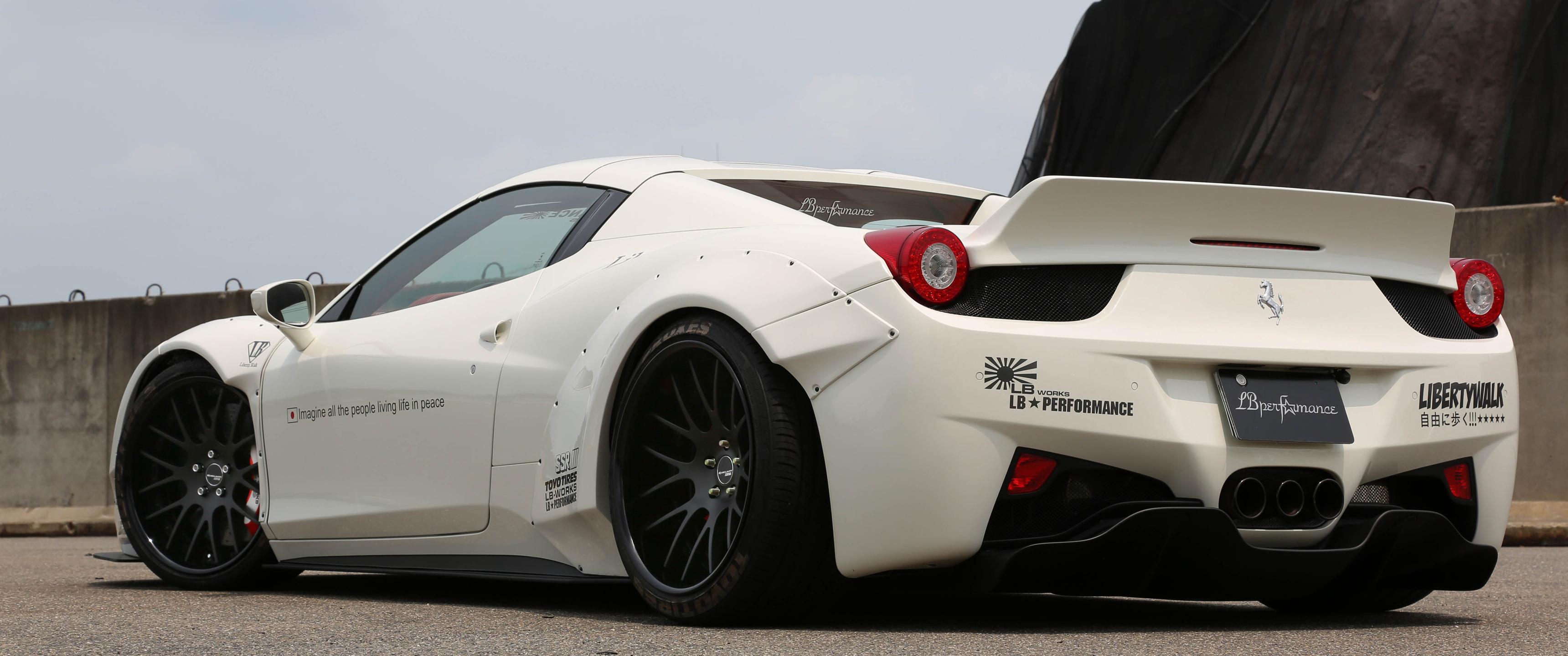 Ferrari 458 Spider Lb 3440x1440 Wallpaper Teahub Io