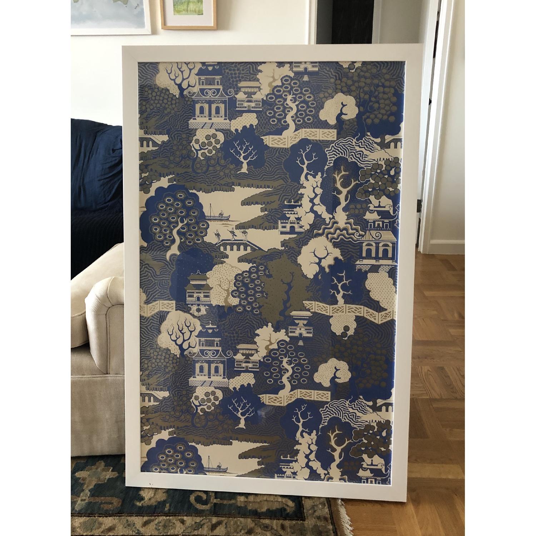 Osborne & Little Summer Palace Framed Wallpaper In - Osborne And Little Summer Palace - HD Wallpaper