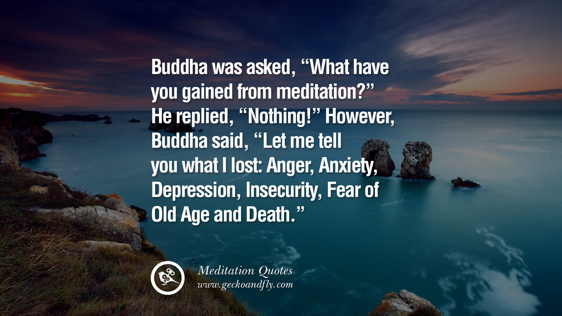 Buddha Quotes On Love Lost Famous Quotes Mindfulness - Inspiring Quotes On Meditation - HD Wallpaper