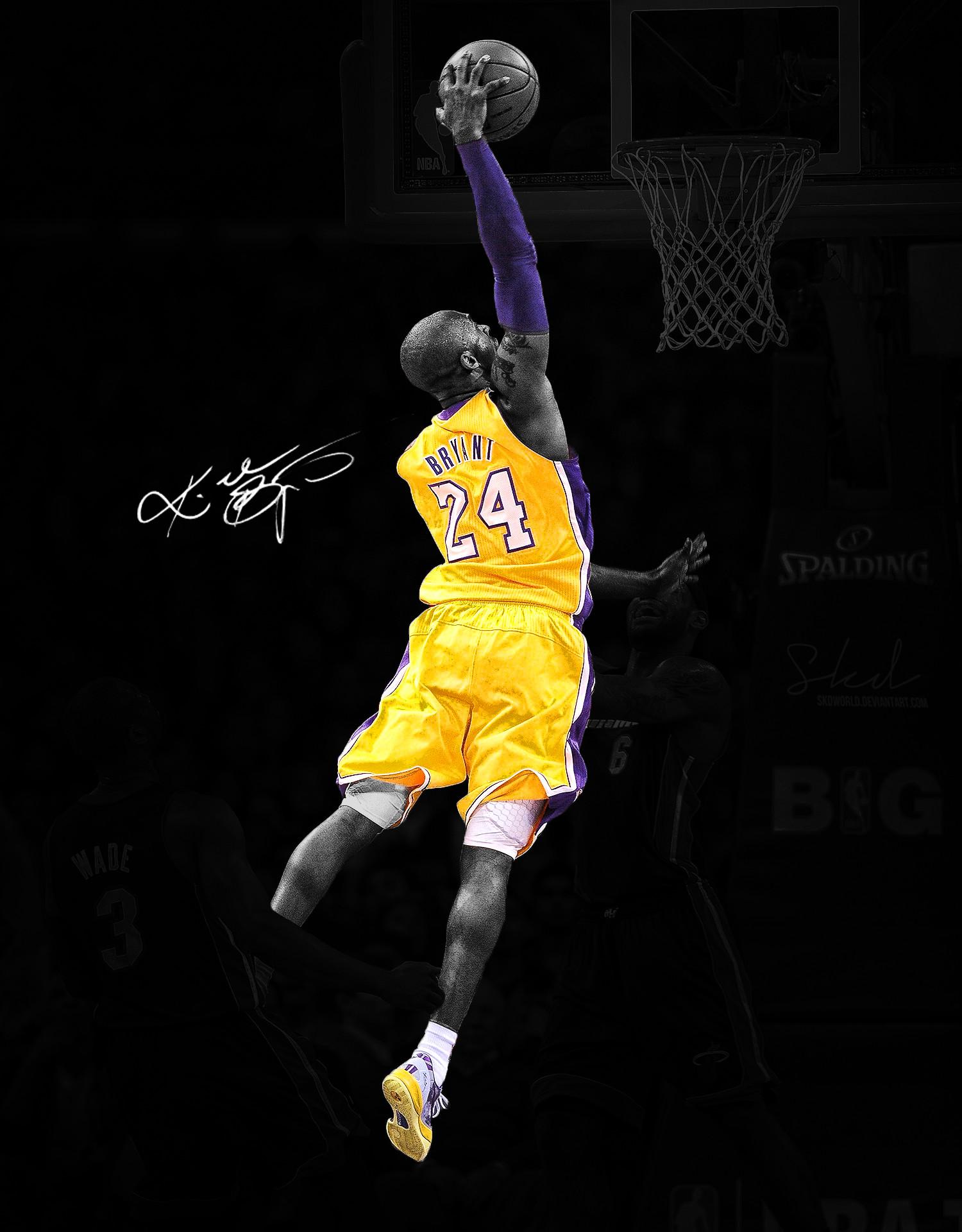 Kobe Bryant Dunk On Lebron James Wallpapers Hd Resolution - Fond D Écran Kobe Bryant Dunk - HD Wallpaper