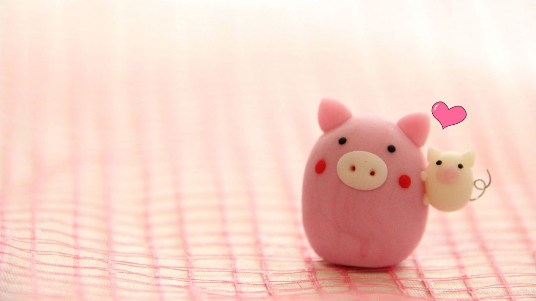 Android, Iphone, Desktop Hd Backgrounds / Wallpapers - Cute Pig Desktop Wallpaper Hd - HD Wallpaper