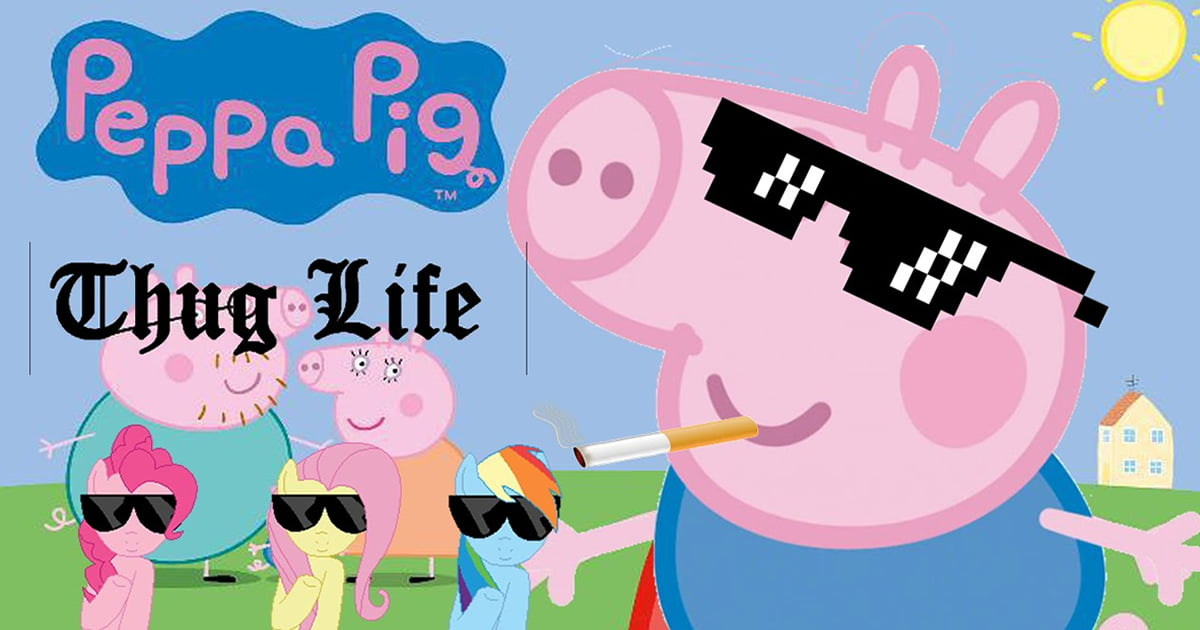 Peppa Pig Memes Are Banned In A Popular China App For Gangster George Peppa Pig 1200x630 Wallpaper Teahub Io