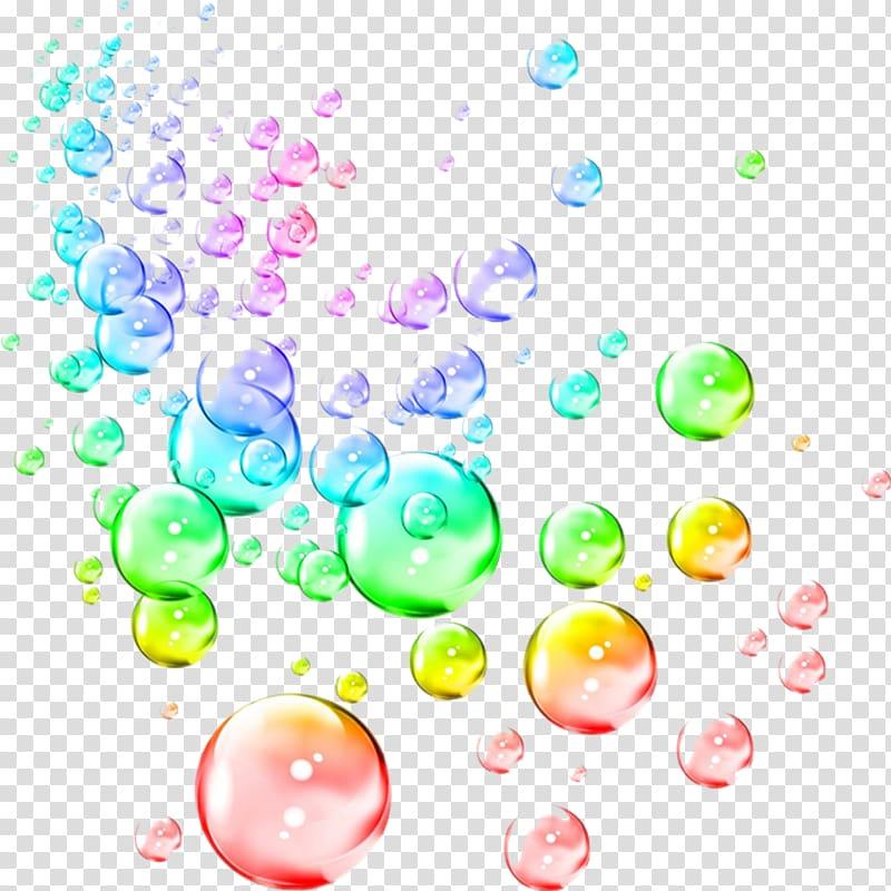Bubbles Transparent Background - Colorful Bubbles Clipart - HD Wallpaper