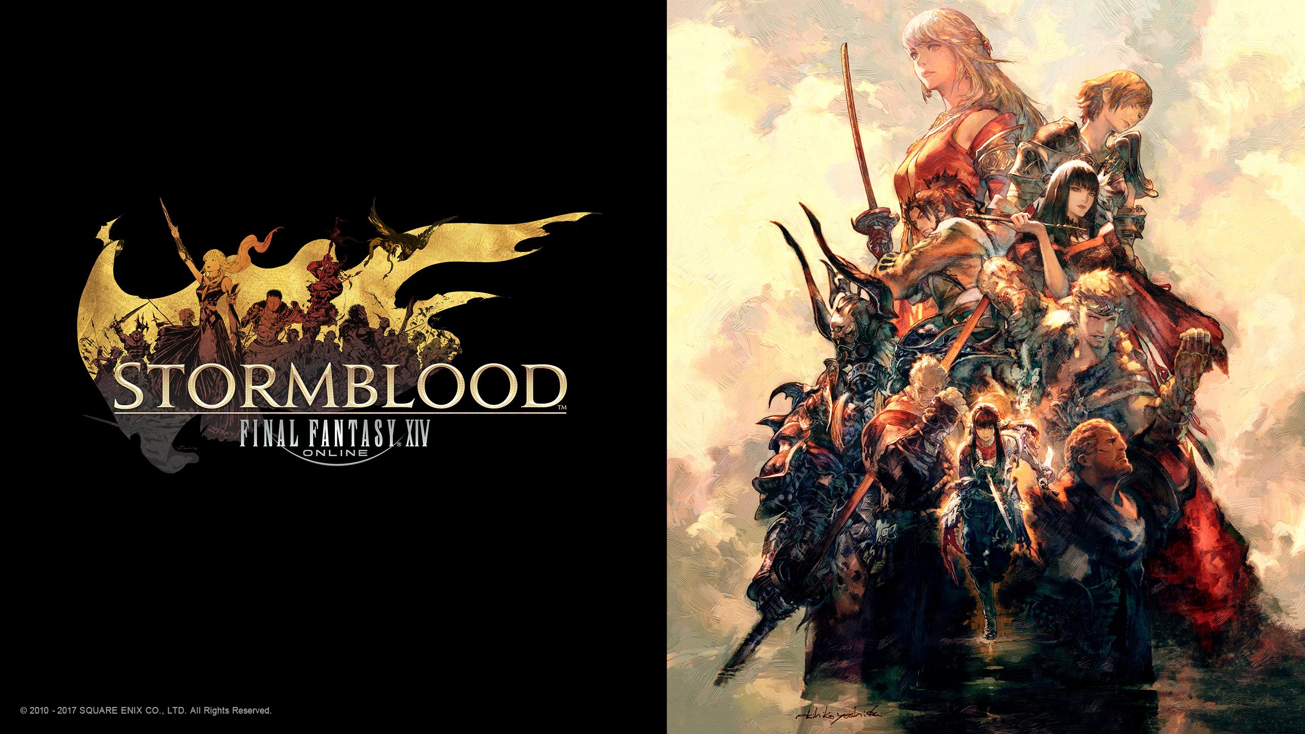 Final Fantasy Xiv Stormblood - HD Wallpaper