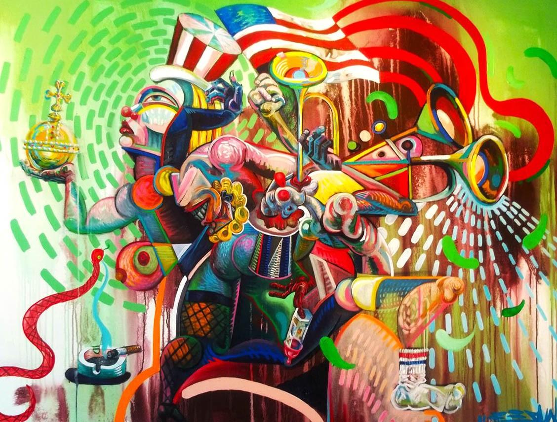 Famous Abstract Art - HD Wallpaper
