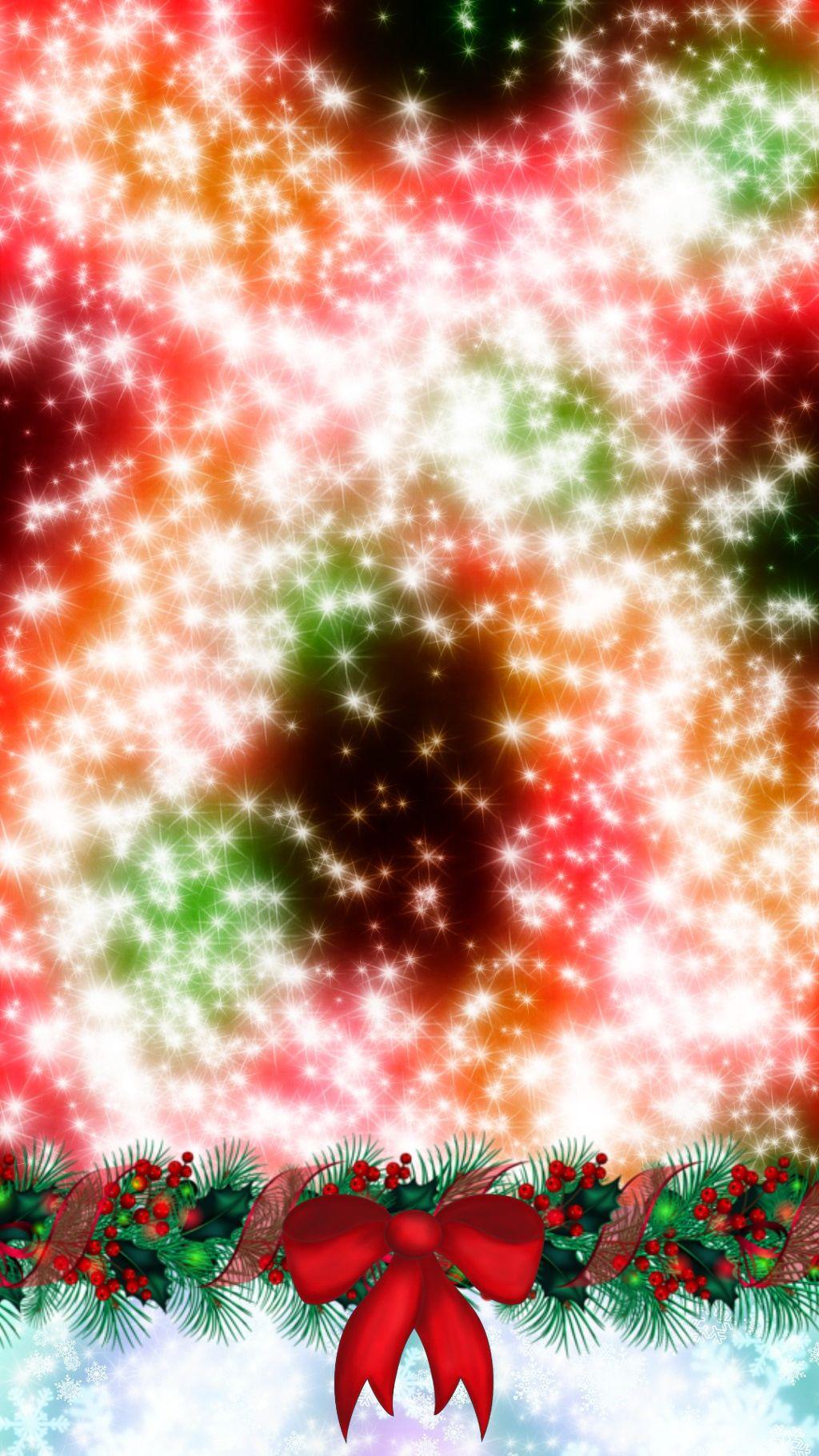 #christmas #homescreen #xmas #wallpaper #galaxy #sparkle - Christmas Ornament - HD Wallpaper