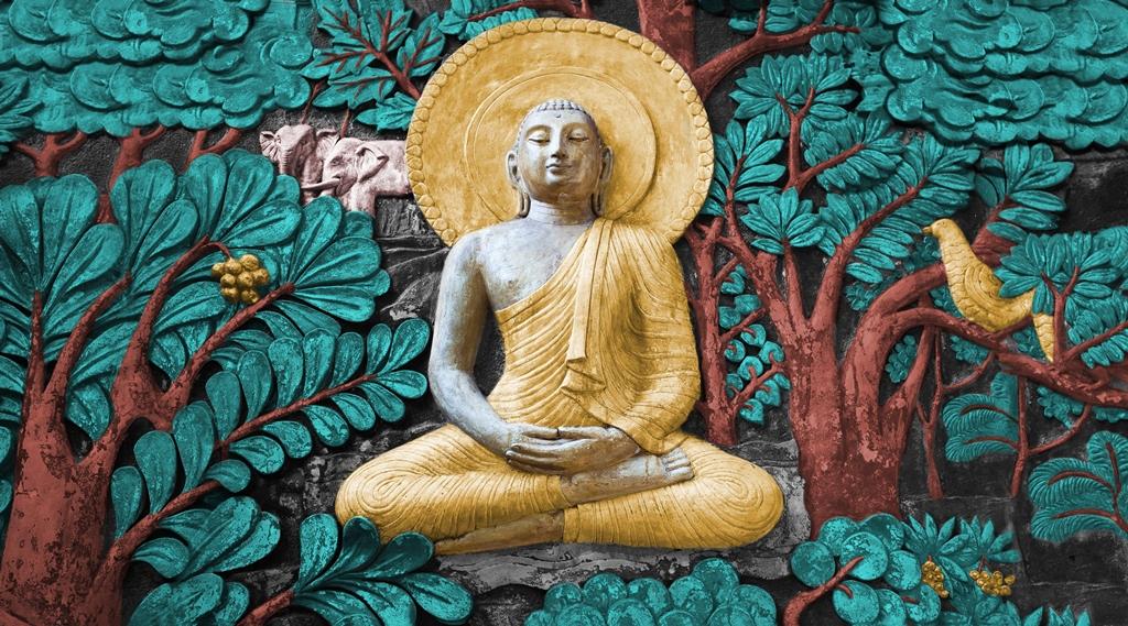 3d Wallpaper For Buddha - HD Wallpaper