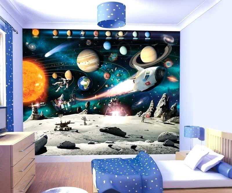 Childrens Bedroom Wallpaper India Boys Wall Stickers - Design For Boys Bedroom - HD Wallpaper