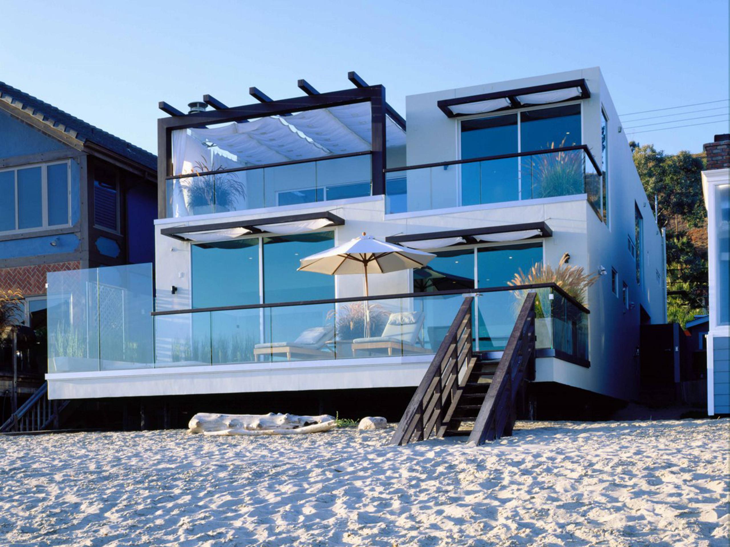 2560x1920, Modern Beach House Wallpaper   Data Id 331111 - Exterior Beach House Ideas - HD Wallpaper