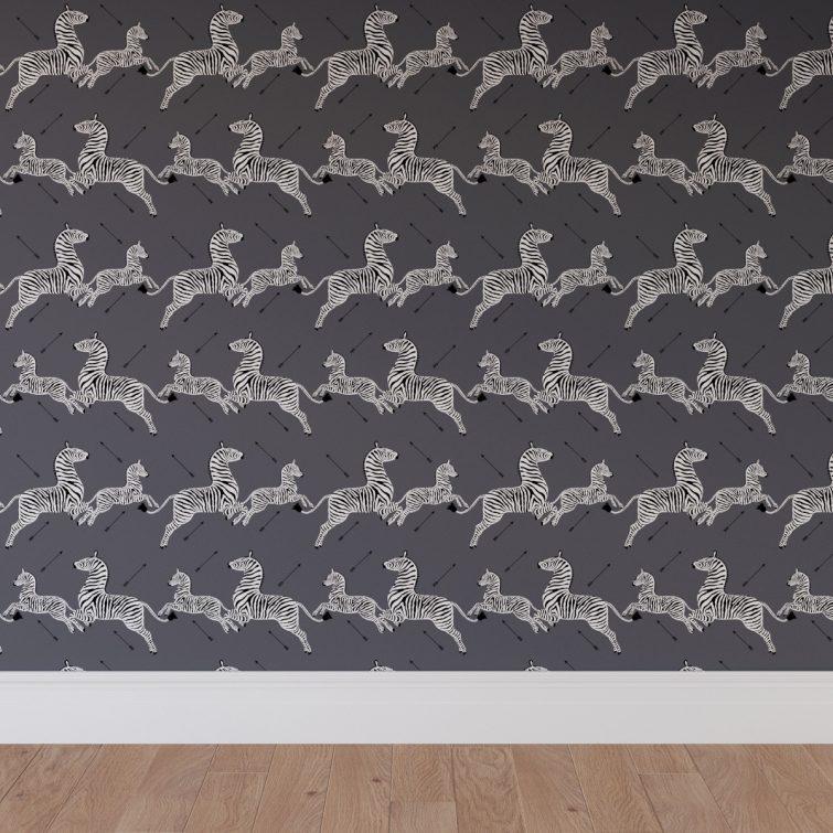 Hot Pink Zebra Room Decor Peel Stick 755x755 Wallpaper Teahub Io