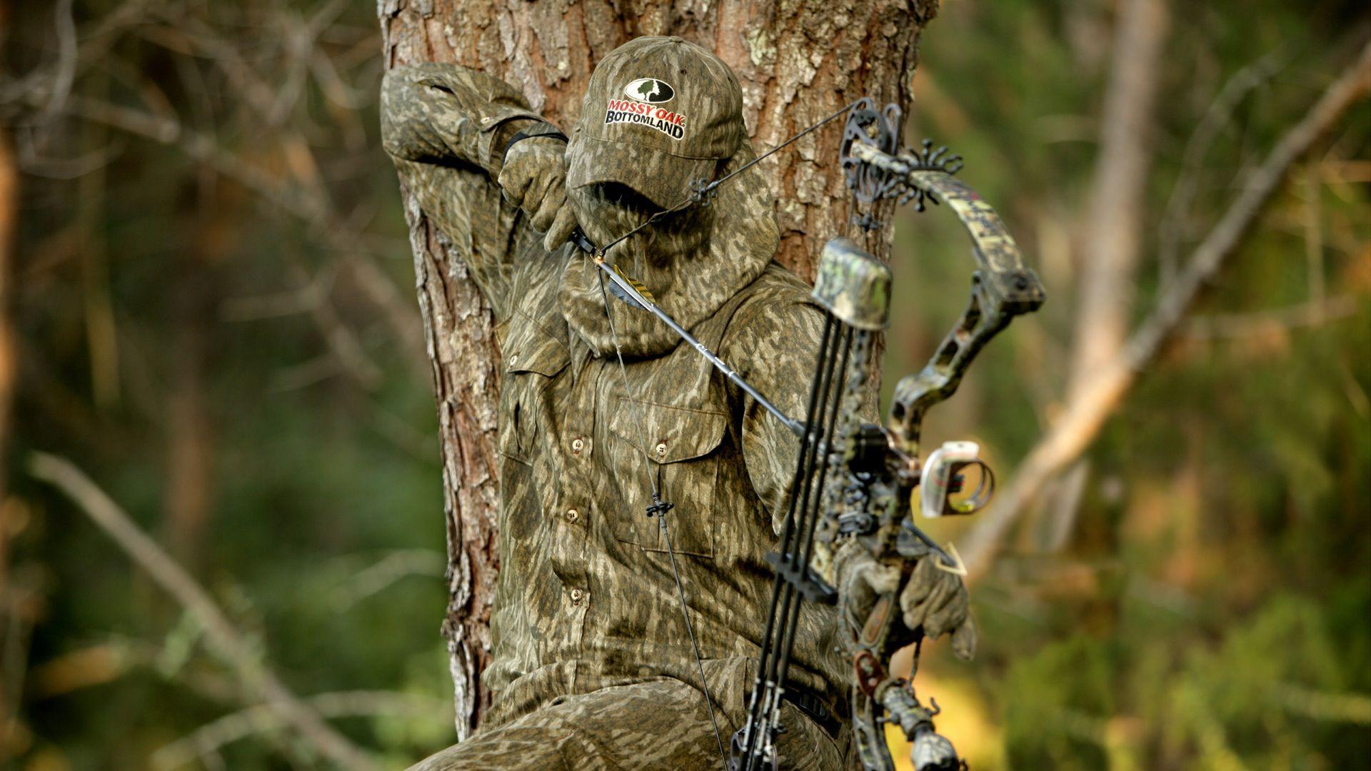 Mossy Oak Bottomland Bow Hunting - HD Wallpaper