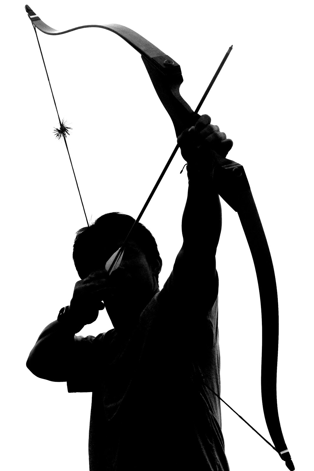 Archery Bow Hunting Clipart Free Clipart Images - Hunter Bow And Arrow - HD Wallpaper