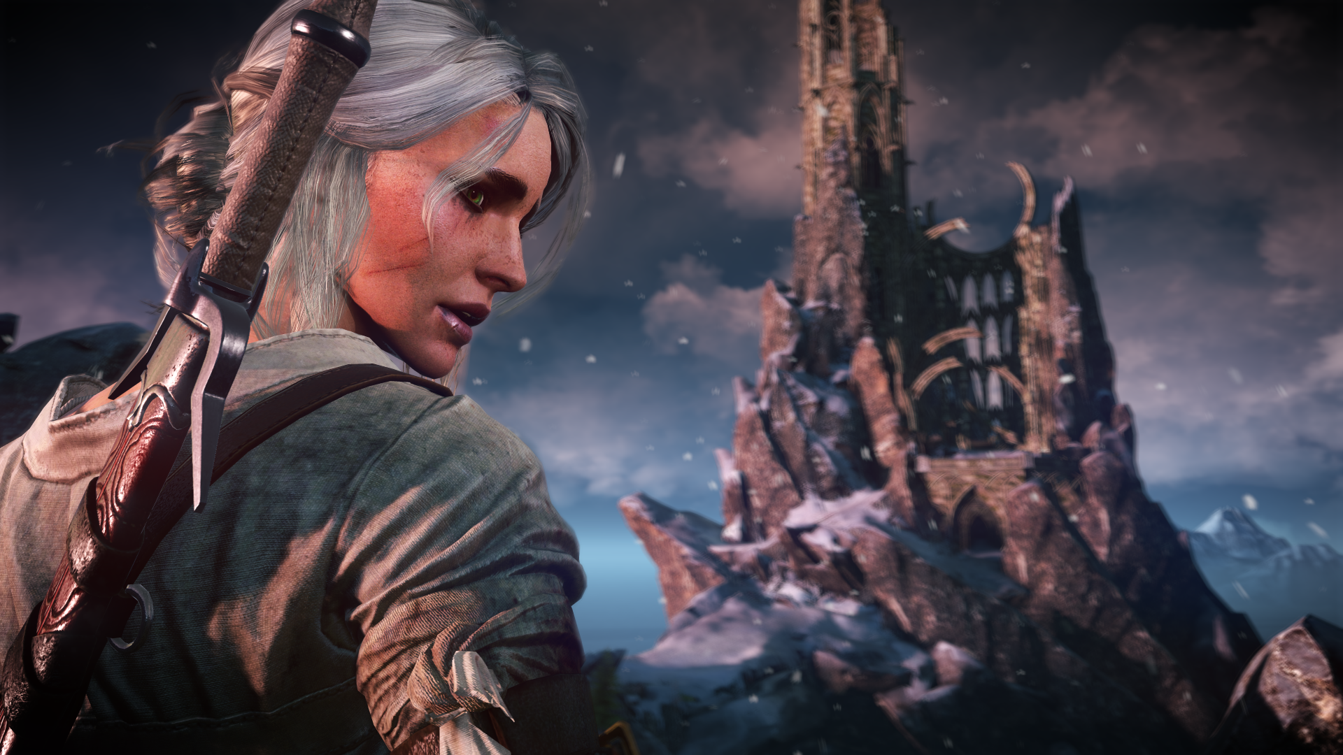 Ciri Witcher 3 Screen 1920x1080 Wallpaper Teahub Io
