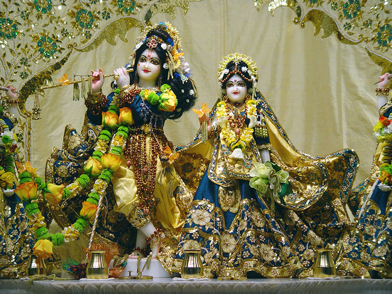 Beautiful Images Of Radha Krishna Ji - HD Wallpaper